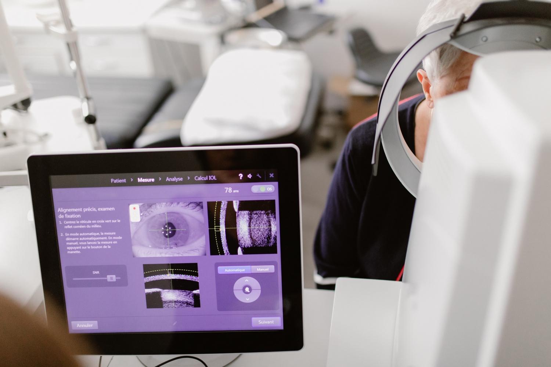 Biométrie - calcul d'implant à Toulouse