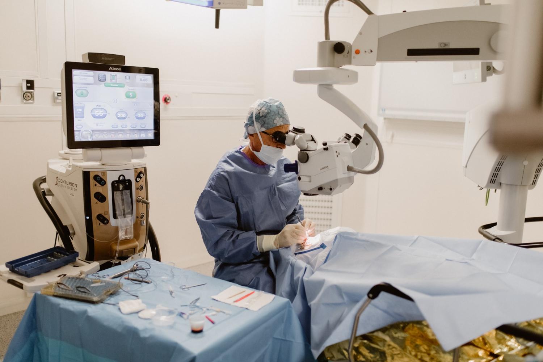 Chirurgie du glaucome à Toulouse